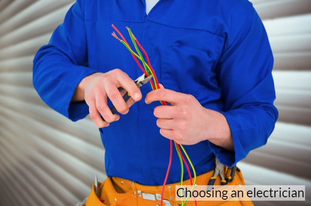 Choosing an electrician